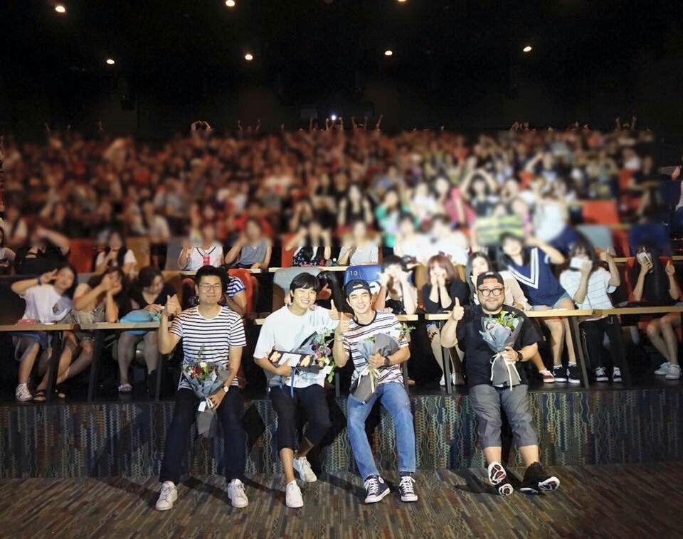 สเตจกรีทติ้งภาพยนตร์'บงอี คิมซอนดัล'ที่แดกู -3- #ยูซึงโฮ #봉이김선달_태국개봉추진