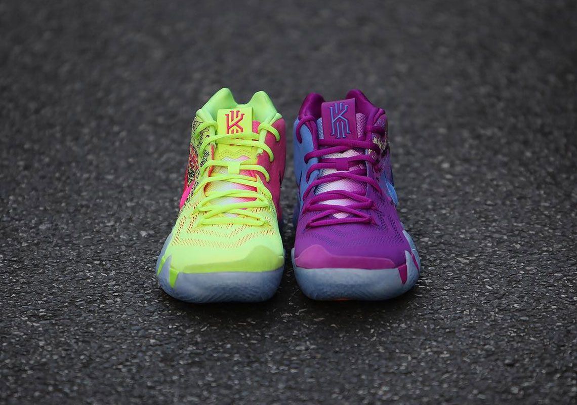 official photos a3c91 5f2b1 Nike Kyrie 4 Confetti - Release Date + Photos | SHOES | Nike ...