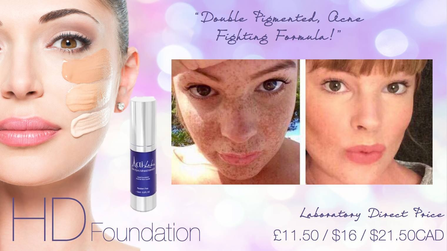 Our HD Foundation contains Green Tea, a powerful