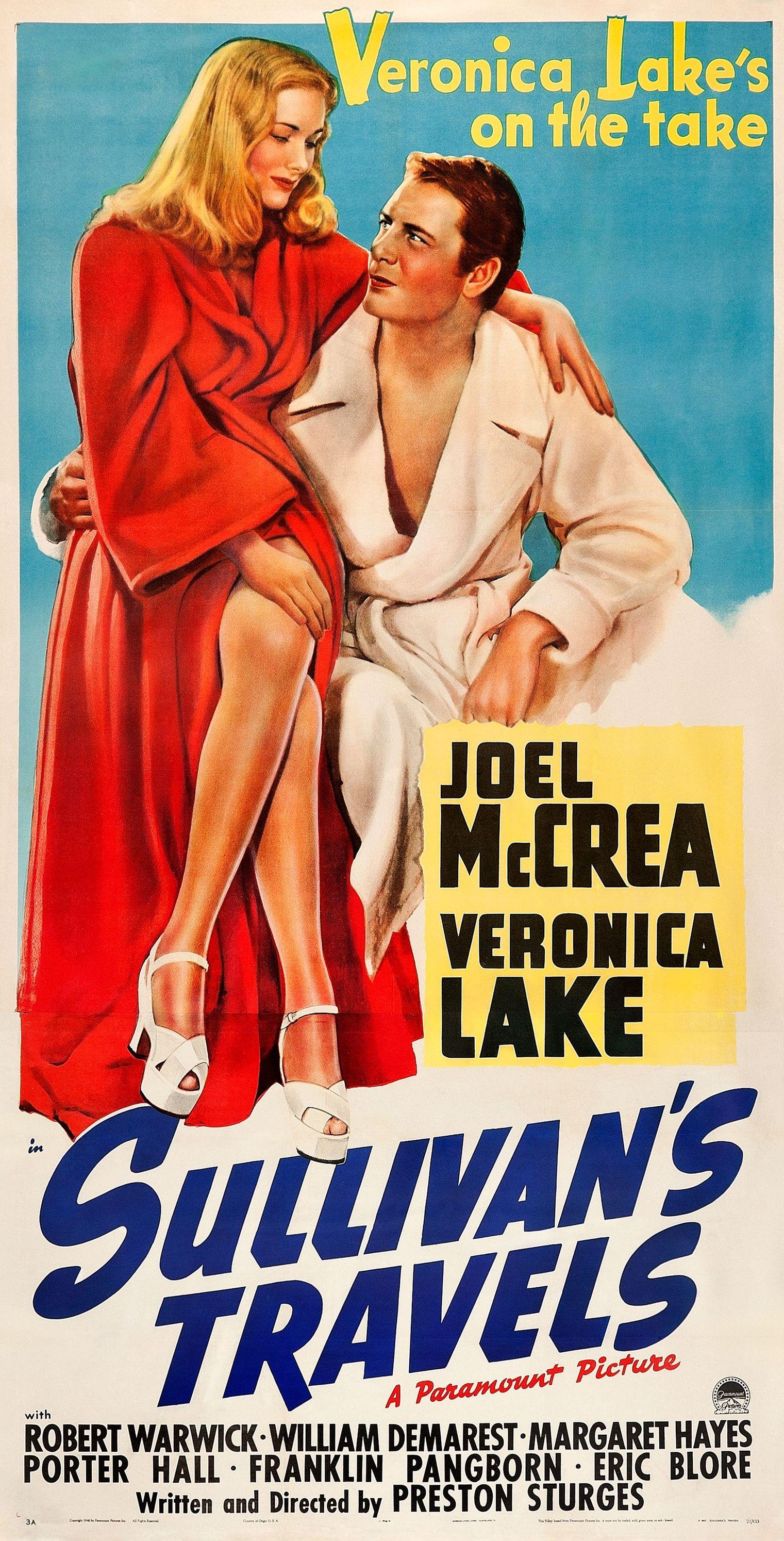 ❤️ Februar 2016* | Preston Sturges | Sullivan's Travels | USA (1941) | 041  1001-film | 003 Film Noir | 001… | Veronica lake, Old film posters, Classic  movie posters