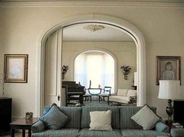 Italianate Interior Love The Arched Pocket Doors Interior Doors - Arched interior doorway design decoration