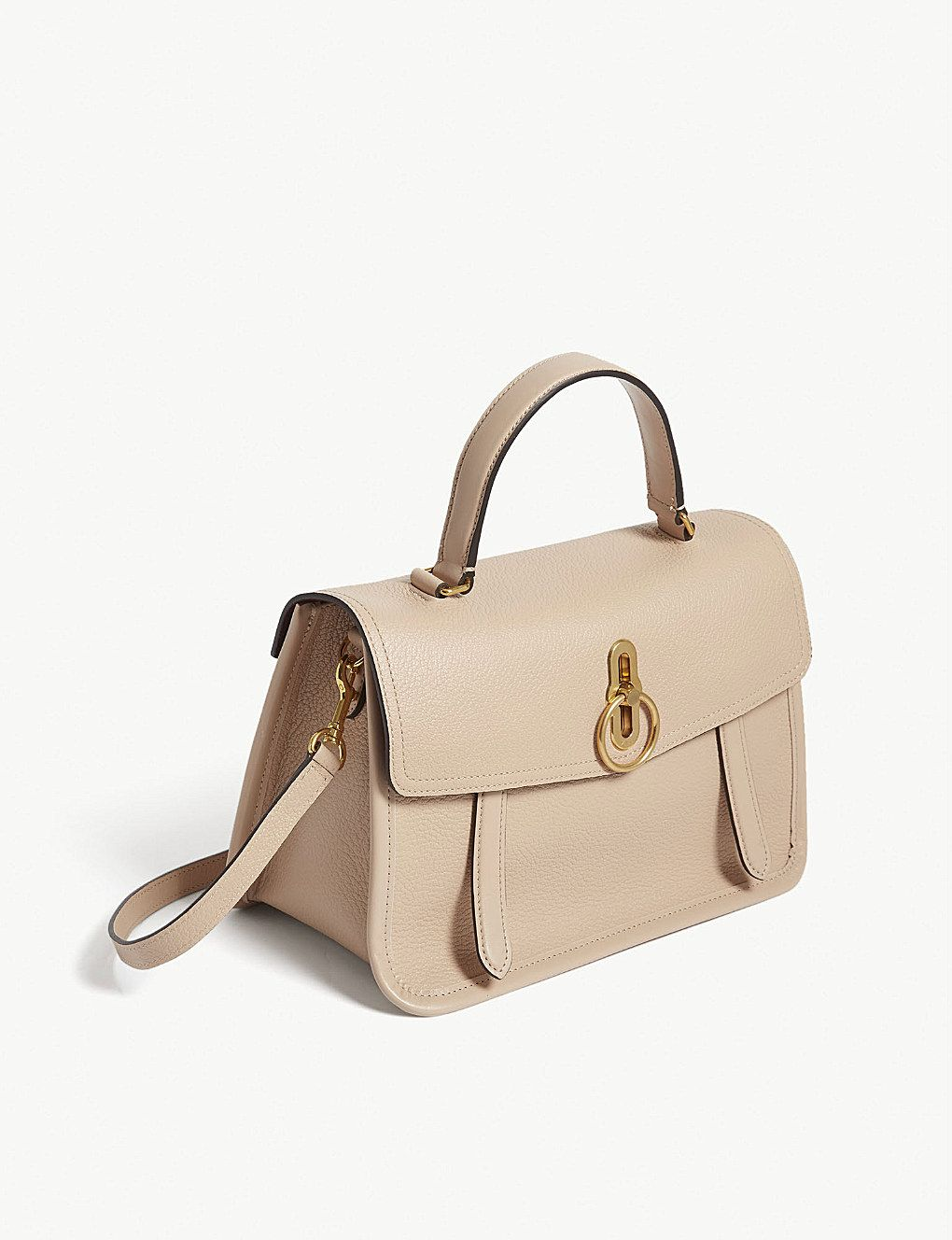 MULBERRY - Gracy grained leather satchel  8da9f4738a883