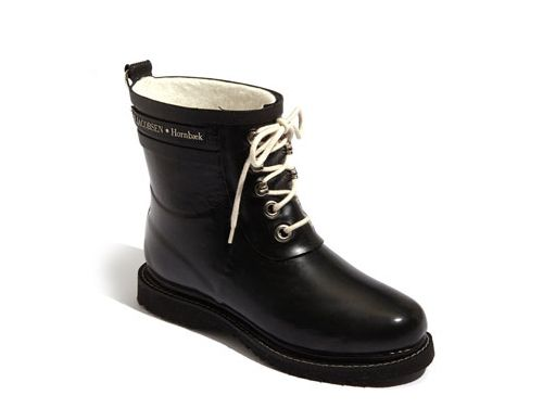 So cute, for a rain boot — Ilse Jacobsen Hornbæk 'Rub' Boot available at #Nordstrom