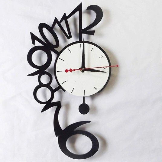 Excellent Creative Wall Clocks For Each Interior Style 벽시계