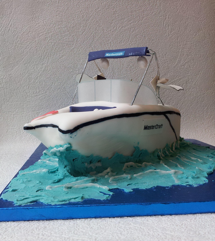 Speedboat Cake Boat Cake Speed Boats Cake Transport