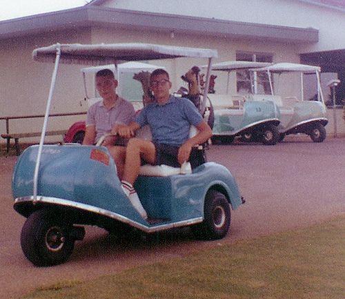 Vintage Golf Cart