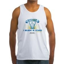 35b9175d829e9 I Believe in Fitness Mens Tank Top - Personal Trainer Gift Ideas (CafePress .com)