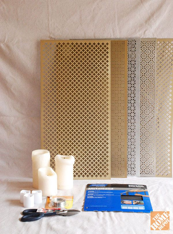Diy Gift Ideas Aluminum Sheet Candle Holders Decorative Metal Sheets Diy Bathroom Update Diy