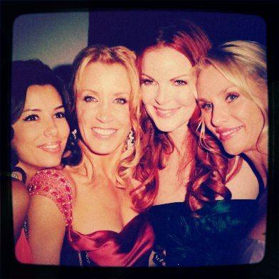 Eva, Felicity, Marcia, and Nicolette