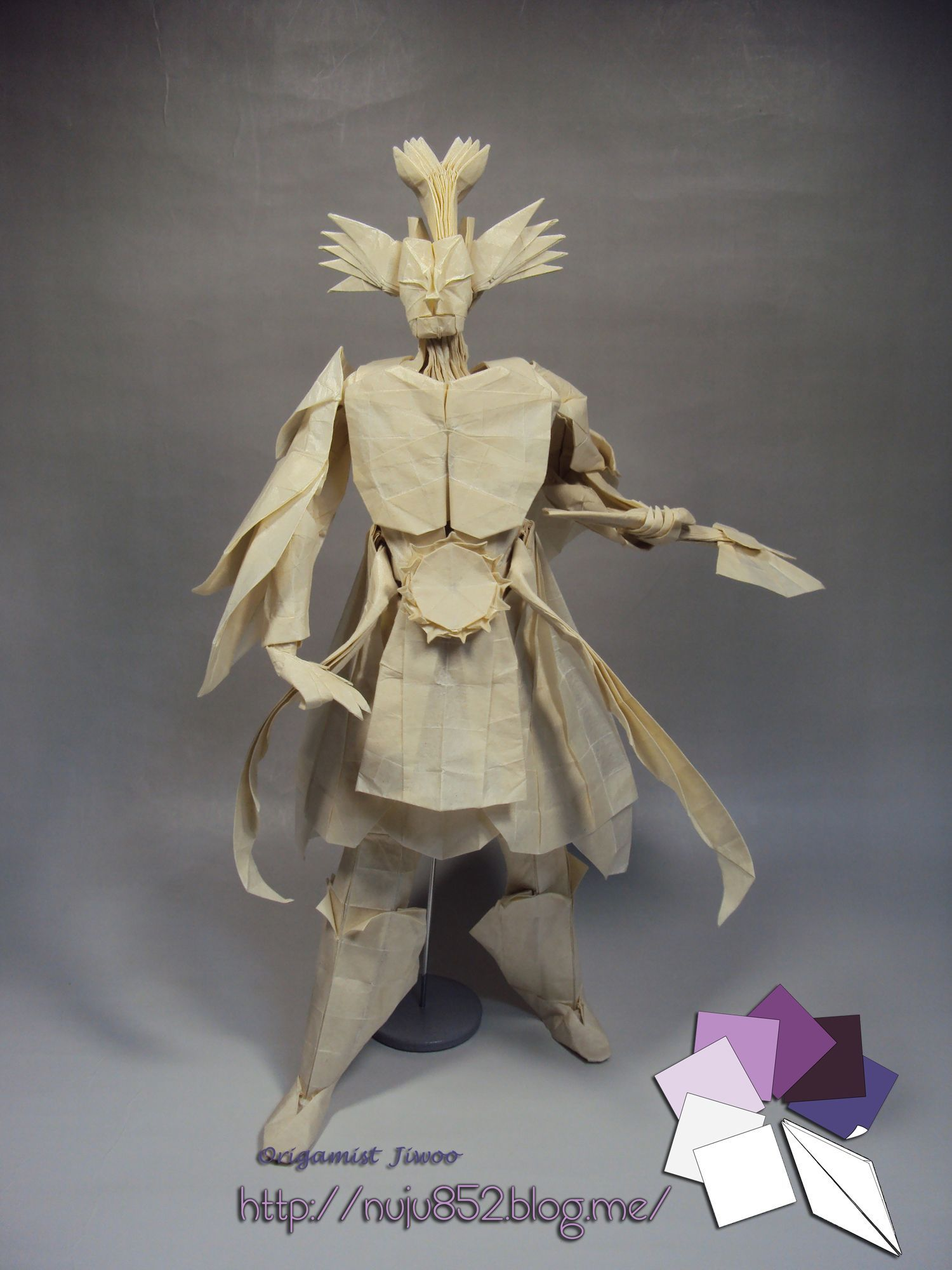 Mahoraga Origami Pinterest Paper Crafts And Design Halloween Diagram Some Absolutely Incredible Work Designed By Hojyo Takashi Folded Ji Woo Han