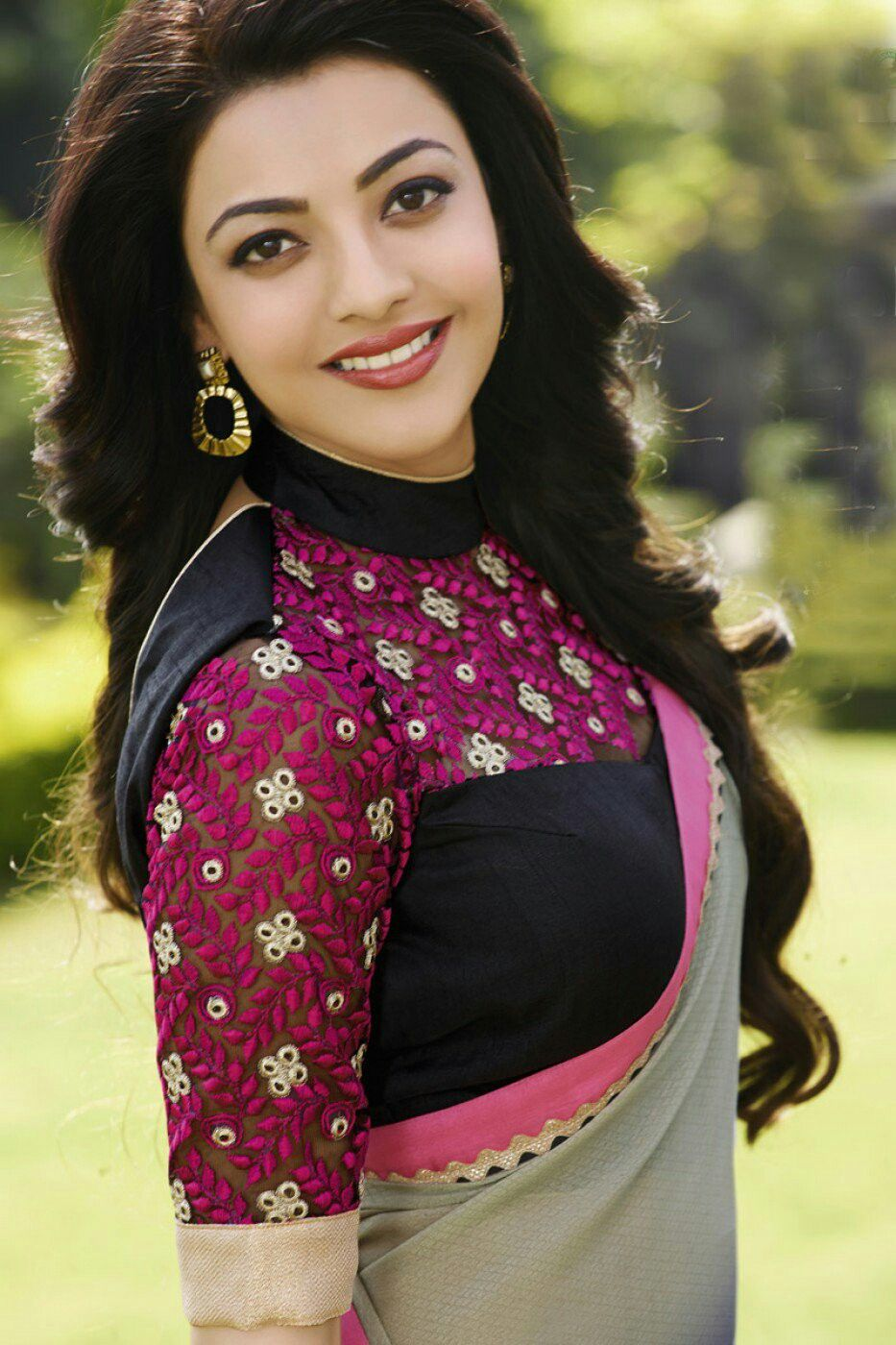 Kajal Aggarwal New Outfit Fashion Saree Styles Clothes For Women