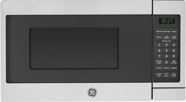 Ft Compact Microwave Stainless Steel Black