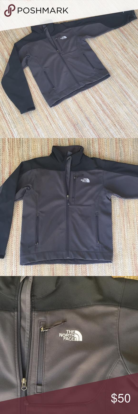 North Face Fleece Lined Shell Jacket Men S M North Face Fleece Shell Jacket Mens Jackets [ 1740 x 580 Pixel ]