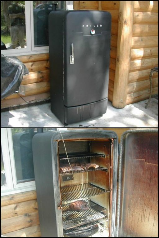 Give Your Old Fridge New Life By Turning It Into A Smoker