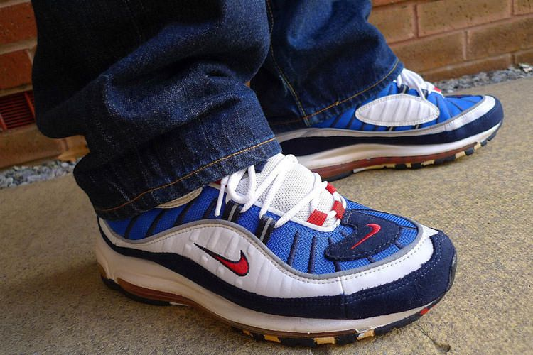 Nike Air Max 98 celeste