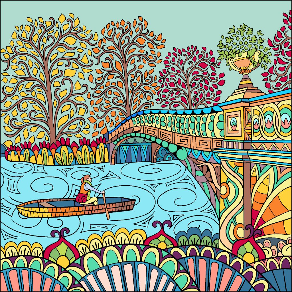 Pin By John Brownell On Beautiful Colored Pictures Puzzle Art Happy Colors Colorful Art [ 1024 x 1024 Pixel ]