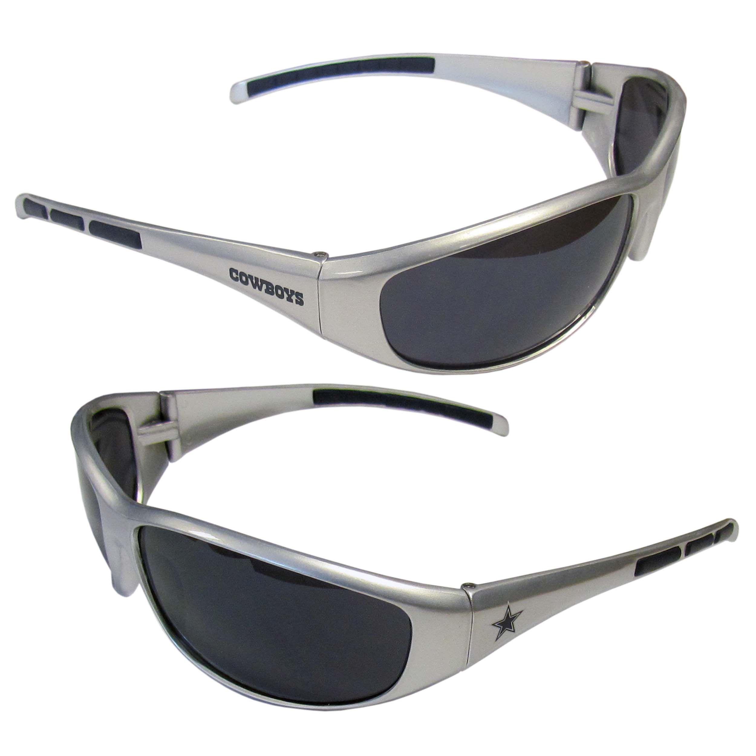Siskiyou Refurbished NFL Dallas Cowboys Wrap Sunglasses