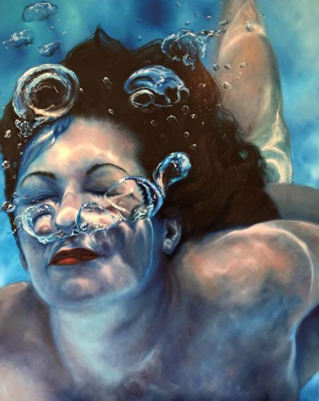 underwater painting easy - 457×573