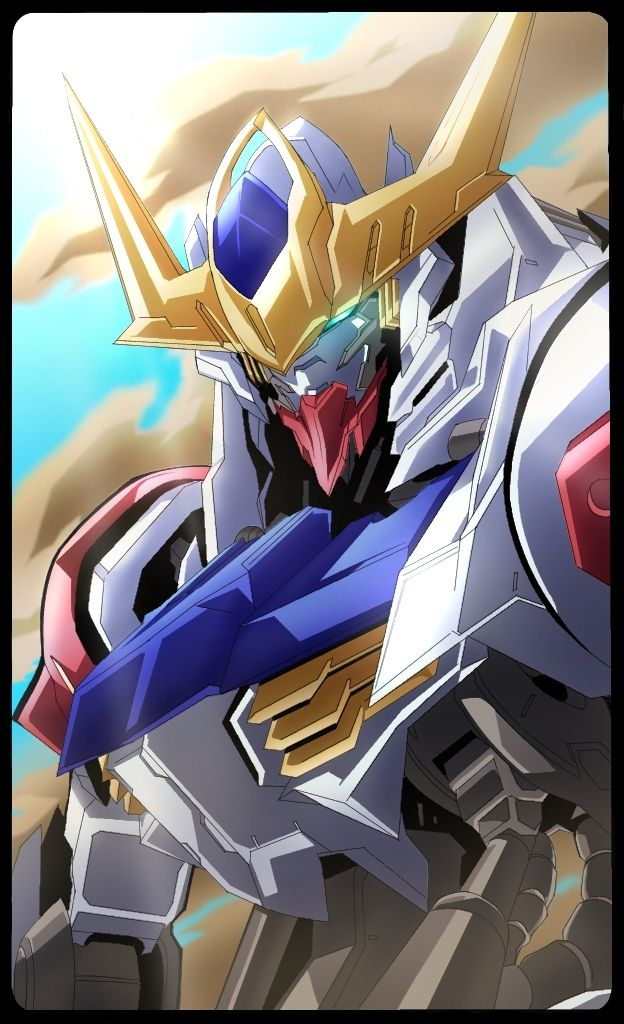 Pin On Gundam Iron Blooded Orphans Art