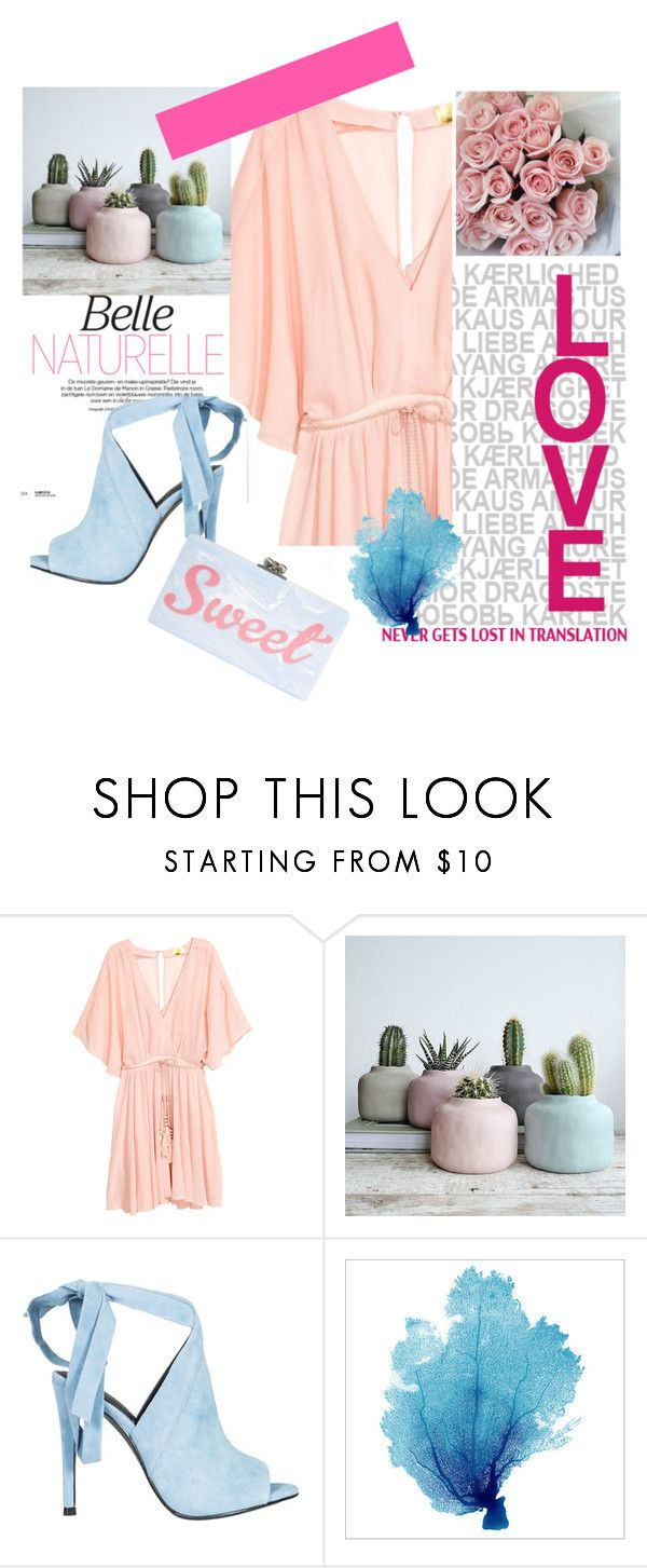 """Belle naturelle"" by ciukinaa ❤ liked on Polyvore featuring Kendall + Kylie and Edie Parker"