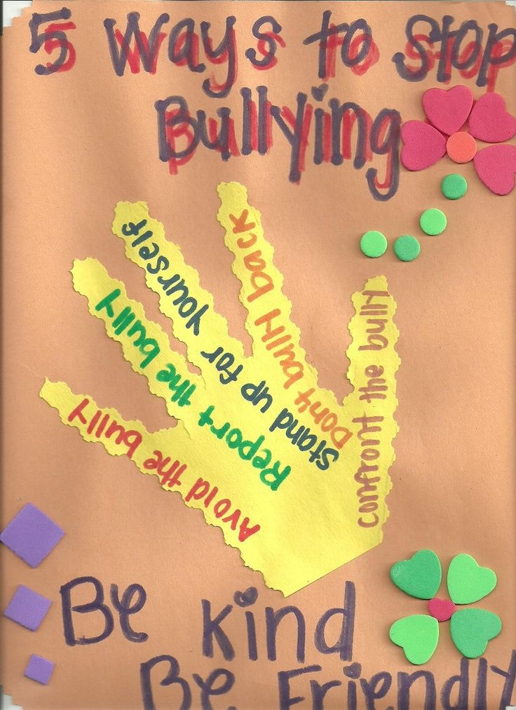 5 Ways to Stop Bullying. This Character Ed Activity