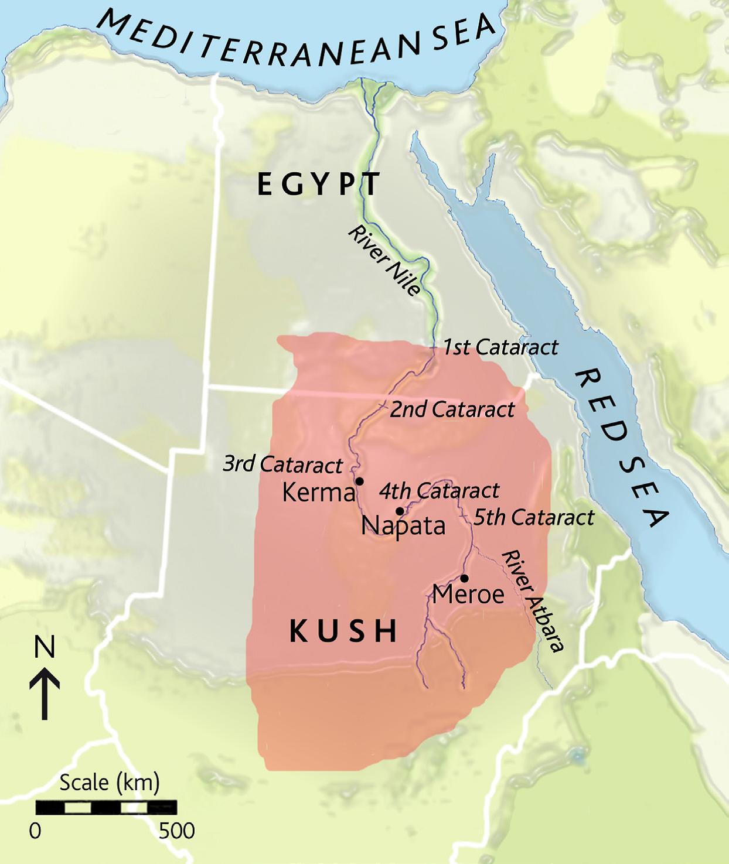 Kush Africa Map The Kingdom of Kush or Kush (/kʊʃ, kʌʃ/) was an ancient African