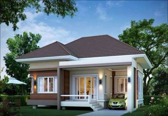 House With Huge Windows Philippines House Design Small House Design Exterior Small House Design Plans