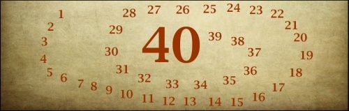 Dlaczego Wielki Post trwa 40 dni?