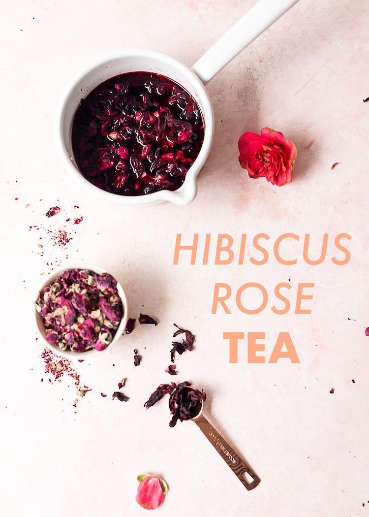Hibiscus Rose Tea With Images Fruit Tea Recipes Tea Recipes
