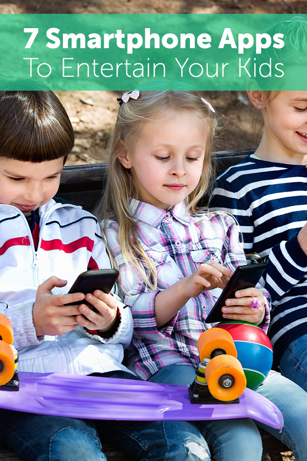7 Smartphone Apps For Entertaining Your Kids (With images