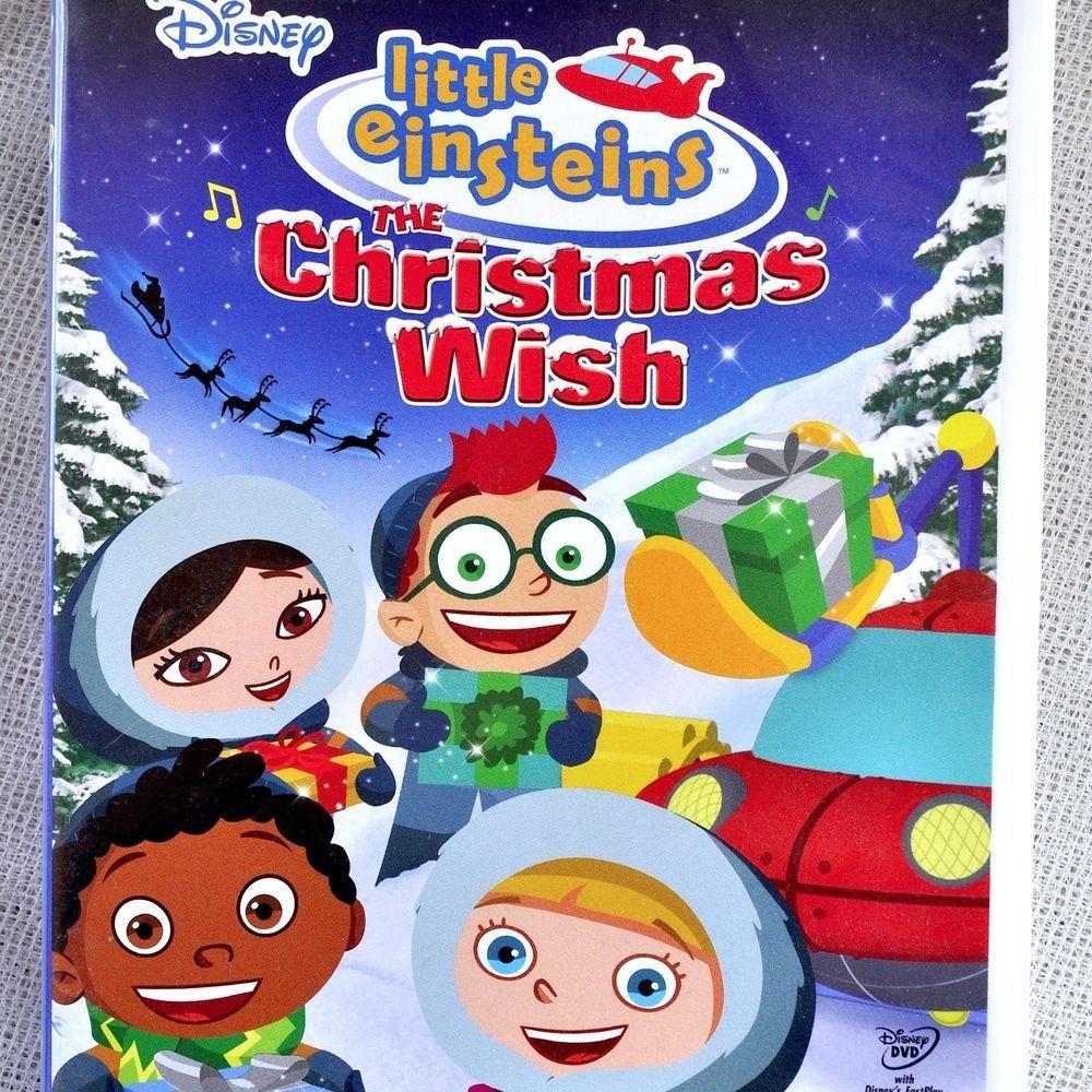 Little Einsteins Christmas Wish Dvd 96min/ 4 Episodes 2008