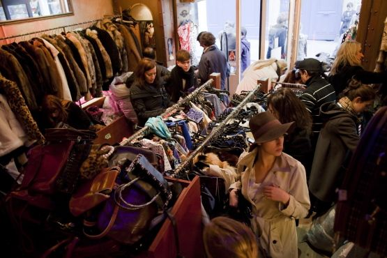 f8ebacfc54 ... Paris. Free P Star.....I literally went crazy in this store...my  animalistic instincts came out....look at all those furs and bags