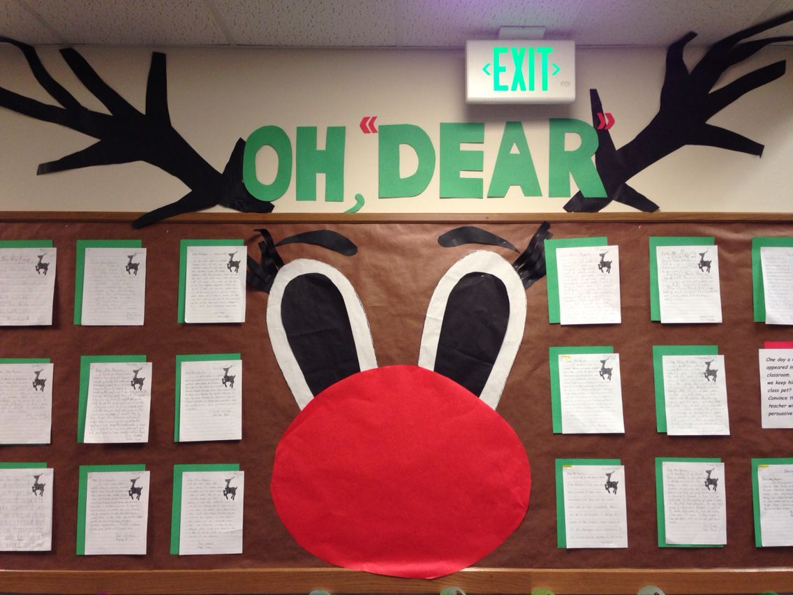 Students Had To Write A Persuasive Letter To Me To Keep One Of Santas Lost Reindeer