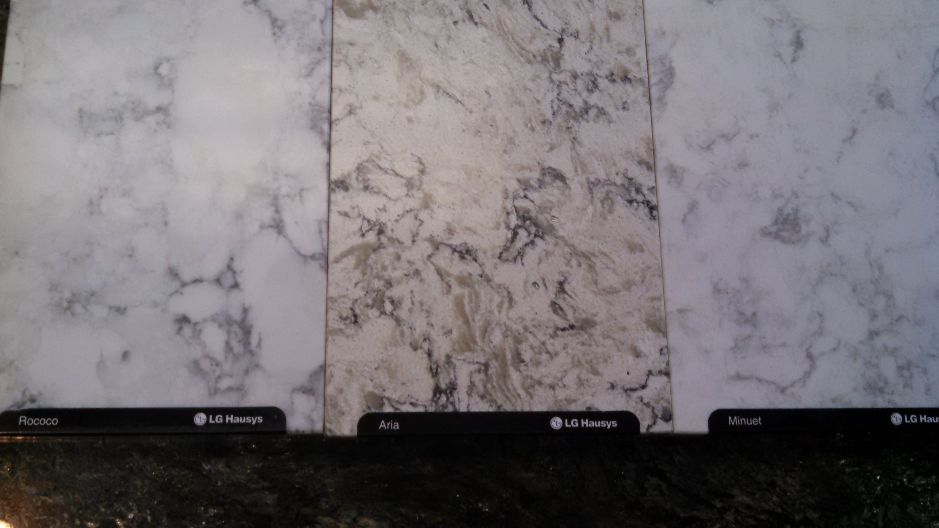 And not white also viatera s new marble look likes ar pinterest