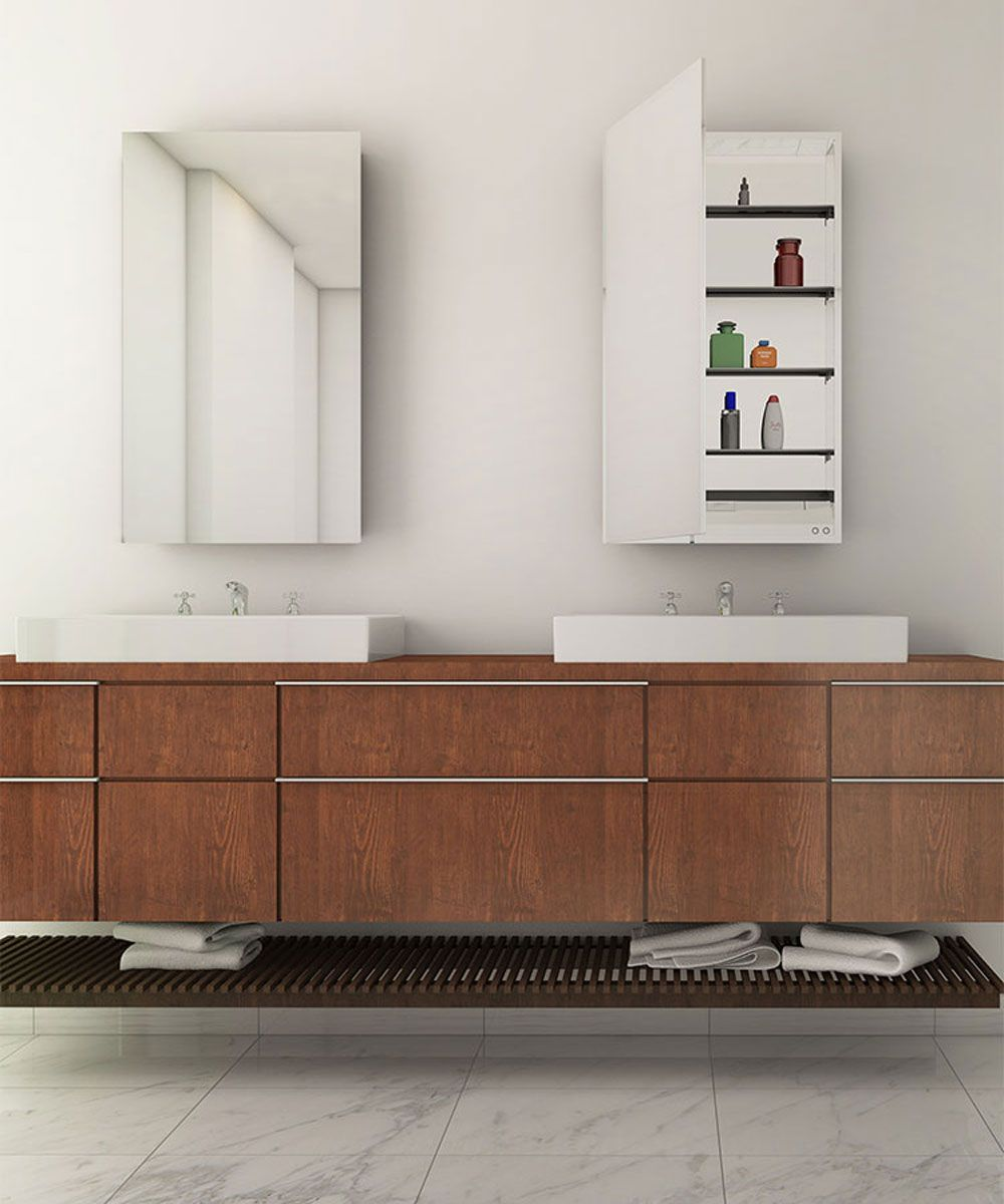 simplicity mirrored cabinet electric mirror quot less is 12767