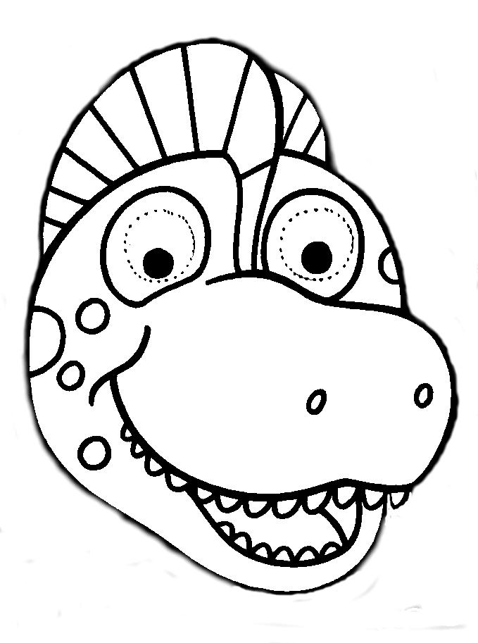 Careta dinosaurio | Kinder-Ideas | Pinterest | Child day y Lucca