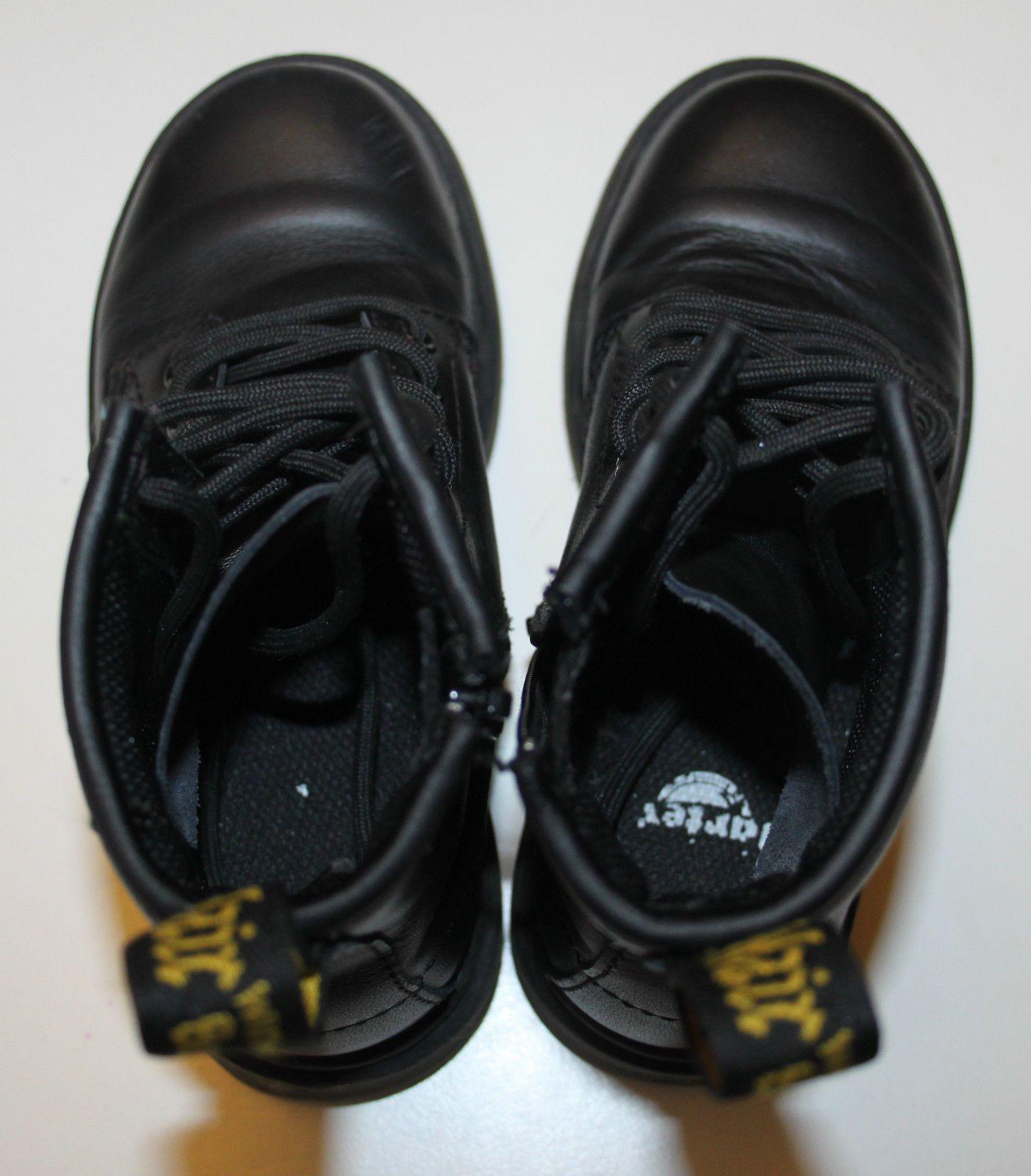 e2871bd82ec Dr Martens DELANEY Junior Lace-up AirWair Bouncing Soles Boots Size ...