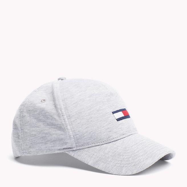 b7023cd0 Tommy Hilfiger Jersey Baseball Cap - lt grey htr (Grey) - Tommy Hilfiger  Hats - main image