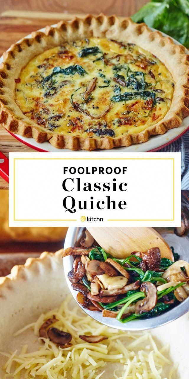 The Best, Foolproof Classic Quiche Recipe. You can use whatever filling you like for this - h... Th