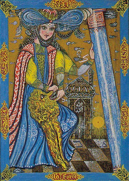 Kazanlar Tarot -- Strength | Tarot -- Strength | Tarot card