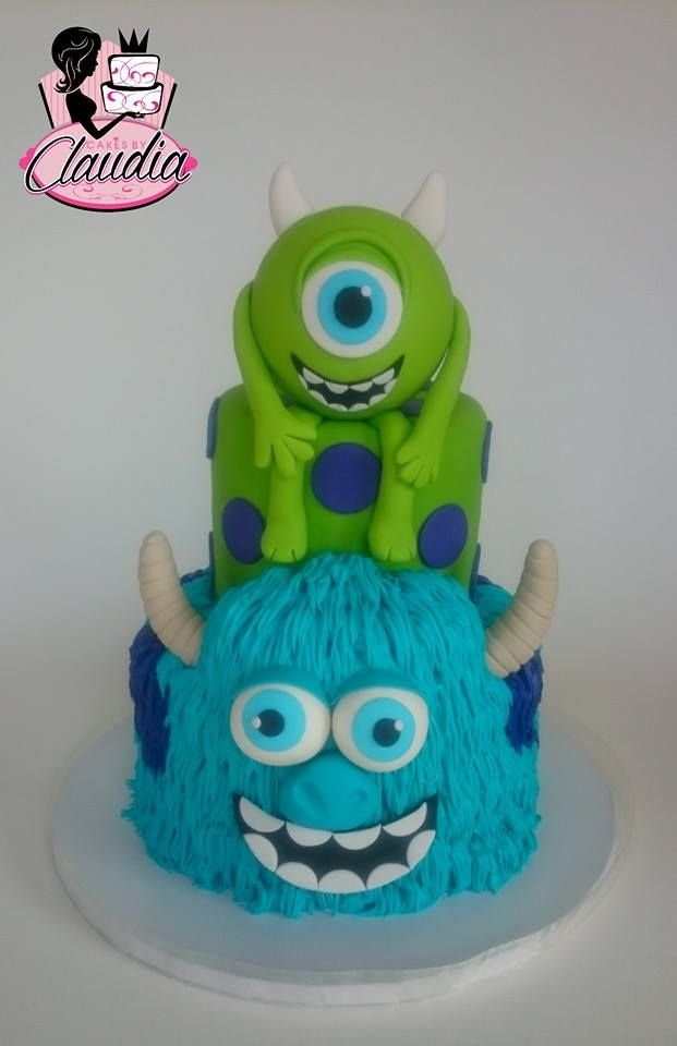 Prime Monsters Inc Cakes By Claudia Facebook Monster Inc Cakes Personalised Birthday Cards Epsylily Jamesorg
