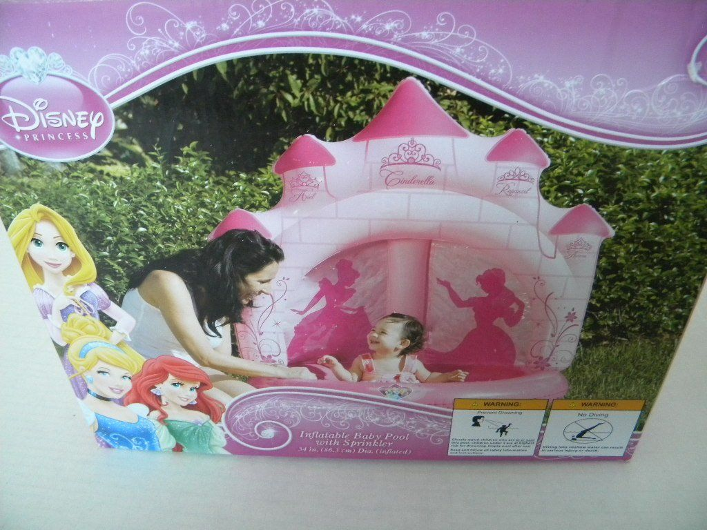 Inflatable Princess Castle Ball Pit