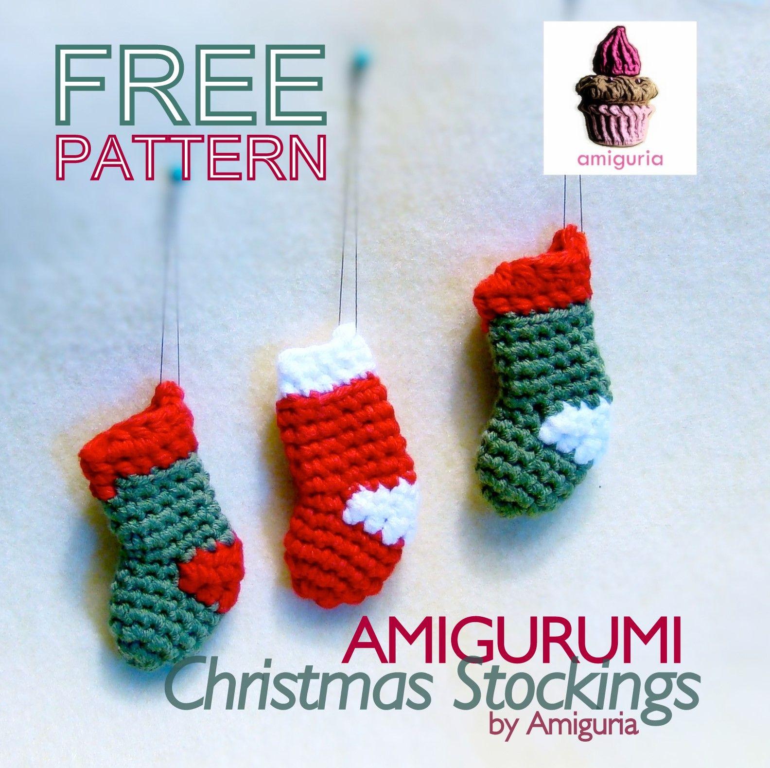 amiguria amigurumi: Free Pattern Christmas Stocking | Crochet ...