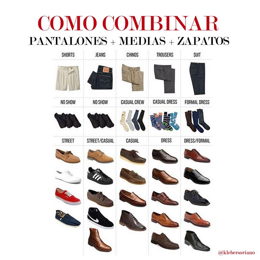 COMO COMBINAR: pantalones + medias + zapatos para hombres