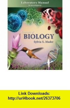 lab manual t a concepts of biology 9780073292007 sylvia mader rh pinterest com concepts of biology 3rd edition lab manual answers biology 33 introduction to modern concepts of biology lab manual 4th edition