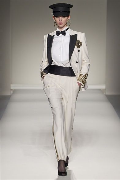 0889b24d99 Moschino - loving the lady tux | Women's Tux & Suits | Fashion ...