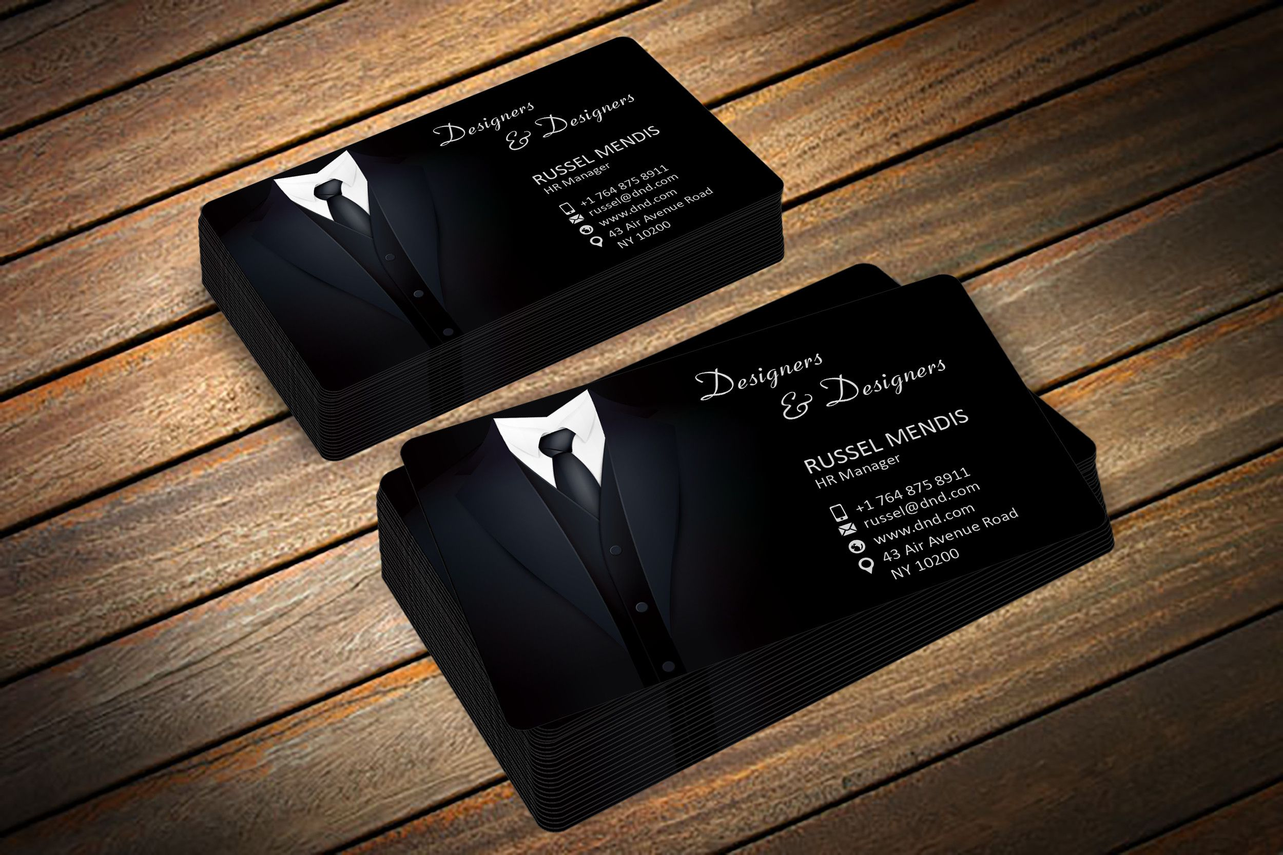 Create modern cut out business cards | Business cards, Business ...