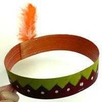 Indianer kopfschmuck Indianer Geburtstag Pinterest