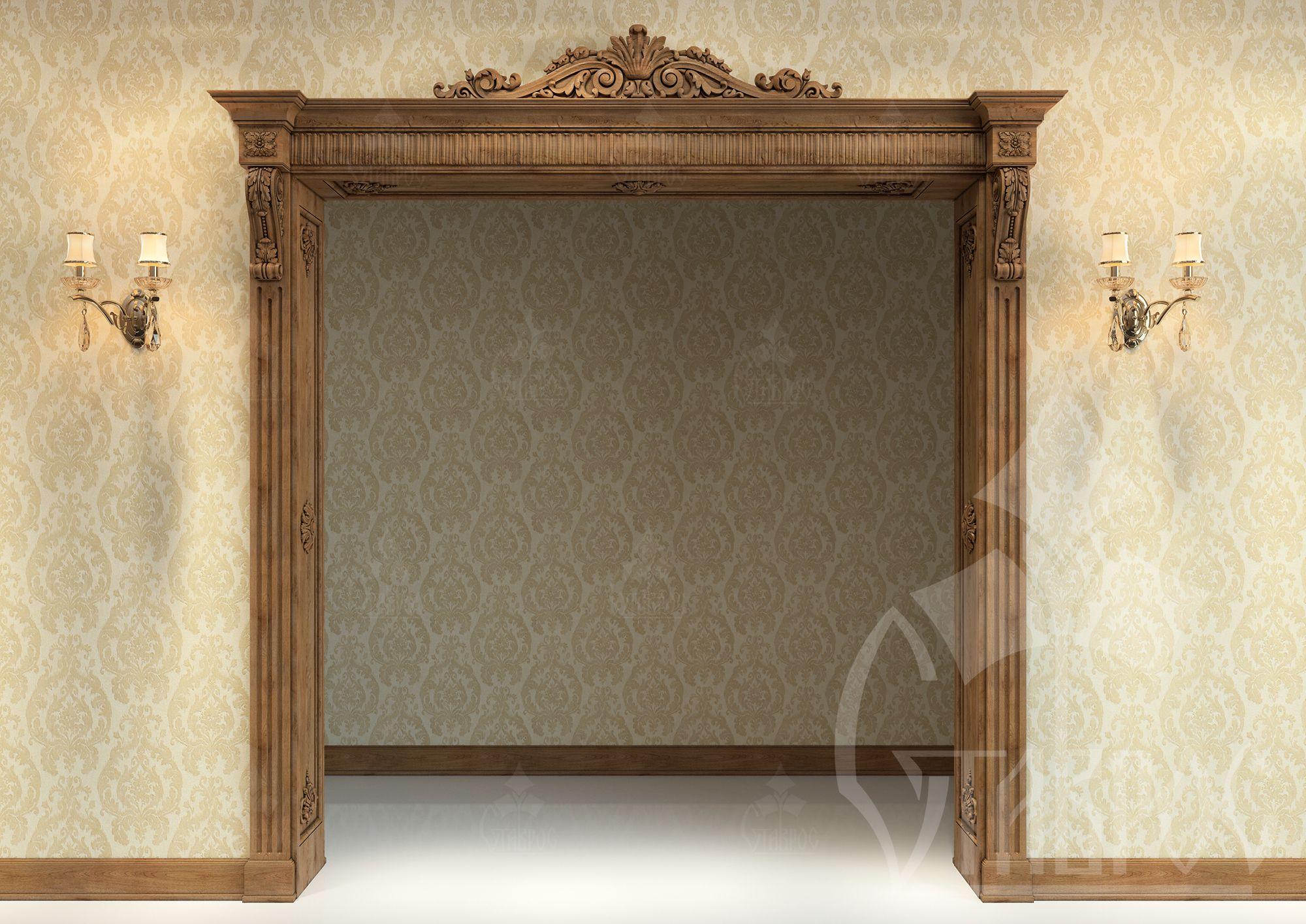 Door portal | Home elements | Pinterest | Arcos, Marcos y Carpintería