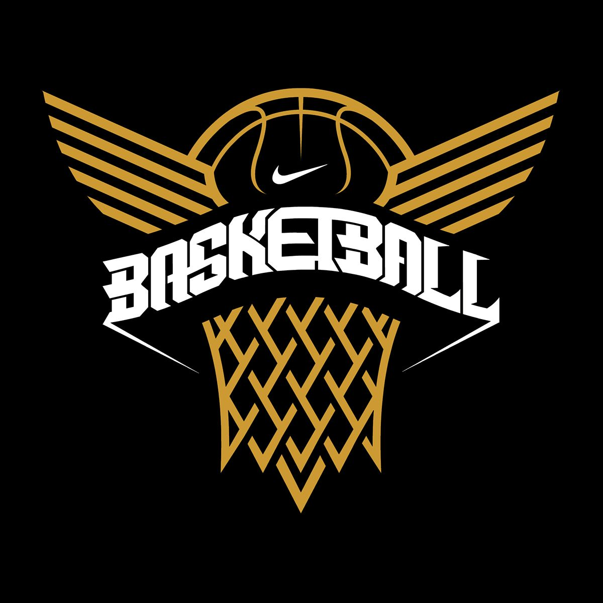 Nike Basketball On Behance Basketball Logo Design Sports Logo Design Logos